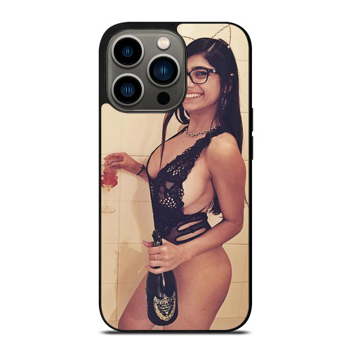SEXY MIA KHALIFA iPhone 13 Pro Case