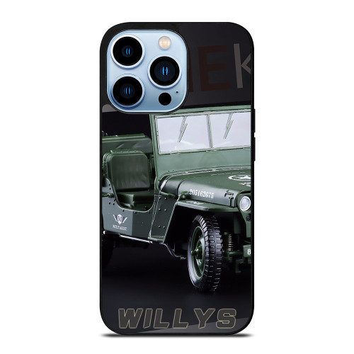 JEEP WILLYS TRUCK iPhone 13 Pro Max Case
