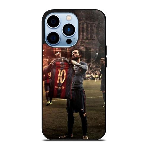 LEO MESSI CLASICO CELEBRATE 1 iPhone 13 Pro Max Case