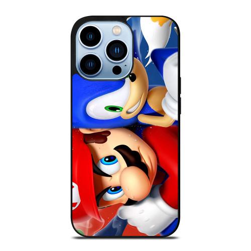MARIO VS SONIC iPhone 13 Pro Max Case