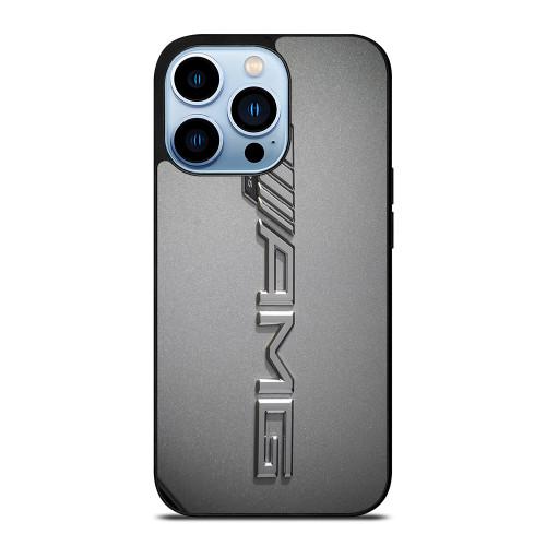 MERCEDES AMG LOGO CHROME EMBLEM iPhone 13 Pro Max Case