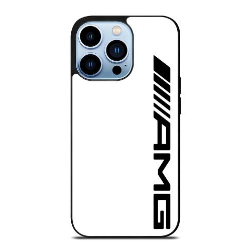 MERCEDES AMG LOGO WHITE iPhone 13 Pro Max Case