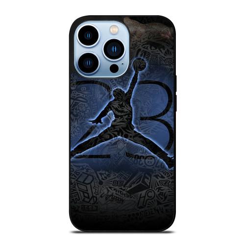 MICHAEL JORDAN AIR JORDAN ART iPhone 13 Pro Max Case