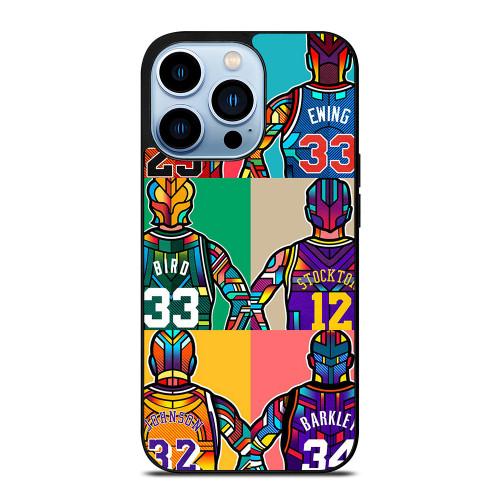 NBA LEGENDS ART iPhone 13 Pro Max Case