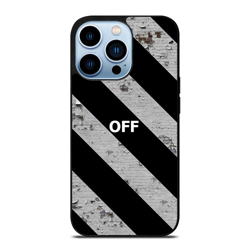 OFF WHITE LOGO STRIPE iPhone 13 Pro Max Case