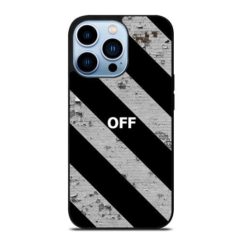 OFF WHITE WALL TEXTURE iPhone 13 Pro Max Case