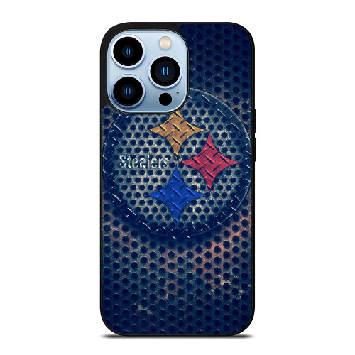 PITTSBURGH STEELERS RUSTY CIRCLE LOGO iPhone 13 Pro Max Case