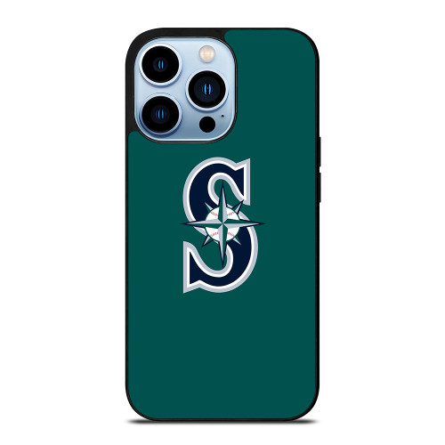 SEATTLE MARINERS LOGO GREEN iPhone 13 Pro Max Case