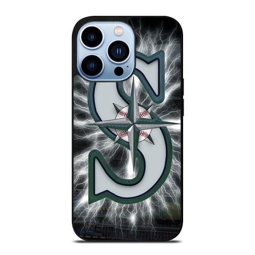 SEATTLE MARINERS MLB LOGO iPhone 13 Pro Max Case