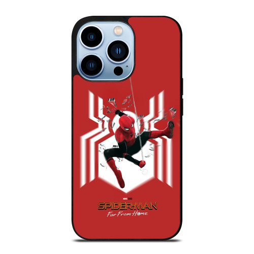SPIDERMAN FAR FROM HOME LOGO RED ACTION iPhone 13 Pro Max Case
