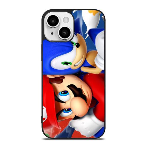 MARIO VS SONIC iPhone 13 Mini Case