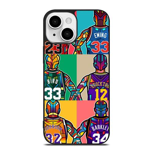 NBA LEGENDS ART iPhone 13 Mini Case