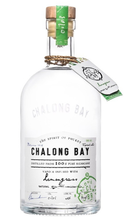 Chalong Bay Lemongrass Infused White Rum