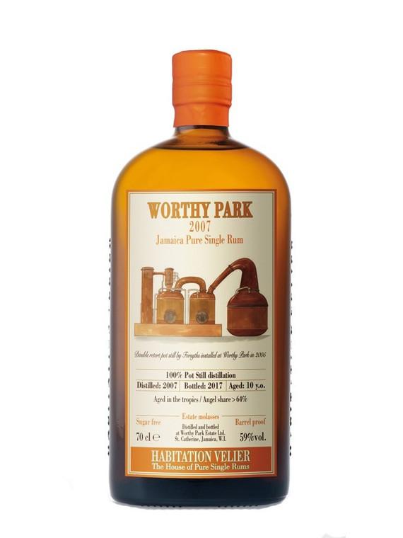 Worthy Park 2007 WPL Pure Jamaican Single Rum 10YO Habitation Velier