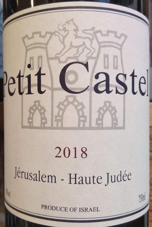 Domaine Du Castel Petit Castel Red 2018 front