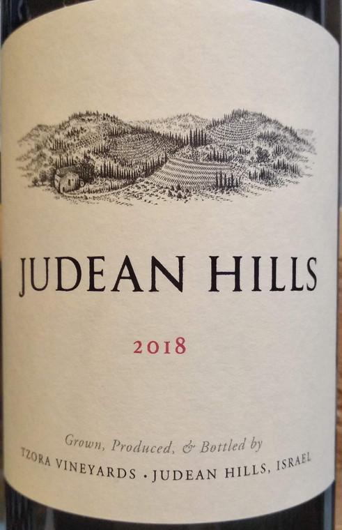 Tzora Judean Hills 2018 Red front