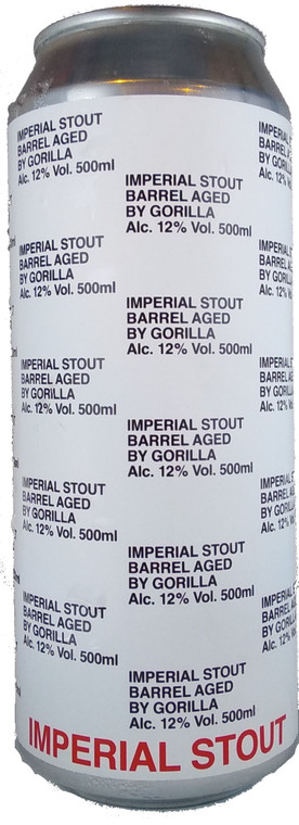 Gorilla Tangerine Imperial Barrel Aged Stout