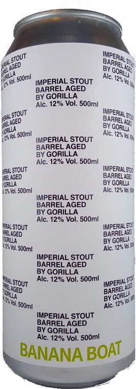 Gorilla Banana Boat Barrel Aged Imperial Stout