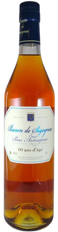 Armagnac Baron de Sigognac 10YO Bas Armagnac