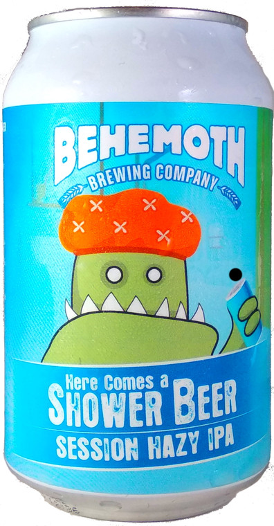 Behemoth Brewing Here Comes a Shower Beer Session Hazy IPA