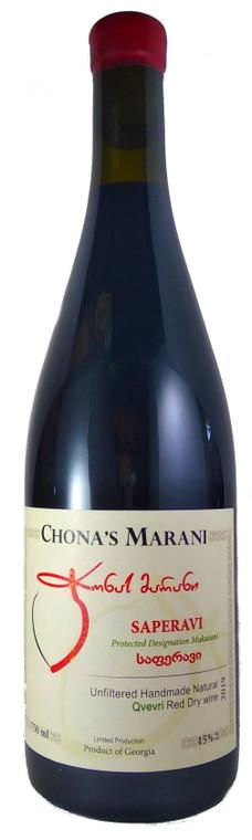 Chona's Marani Saperavi 2019 Kakheti Dry Red Wine