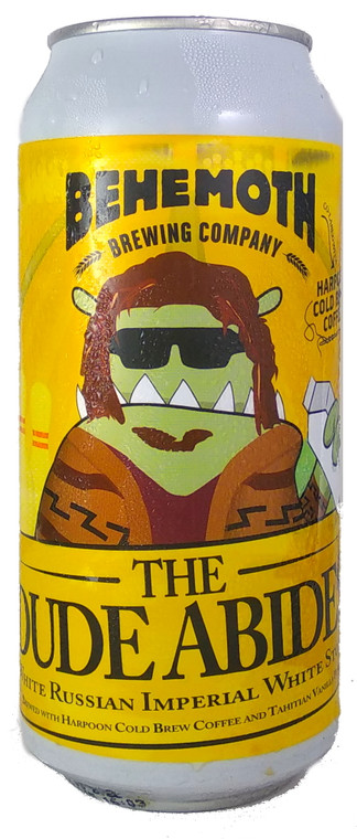 Behemoth The Dude Abides White Russian Imperial White Stout