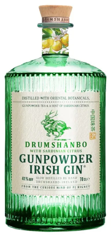 Drumshanbo Gunpowder Sardinian Citrus Irish Gin
