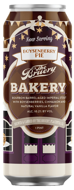 The Bruery Boysenberry Pie BA Stout