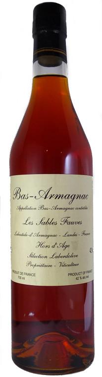 Armagnac Laberdolive Hors D'Age Les Sables Fauves Bas Armagnac