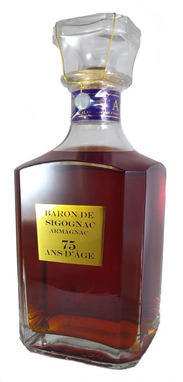 Armagnac Baron de Sigognac 75YO Bas Armagnac