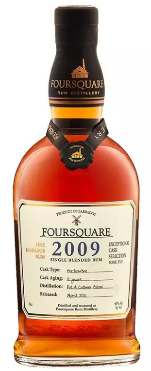 Foursquare 2009 12YO Barbados Rum