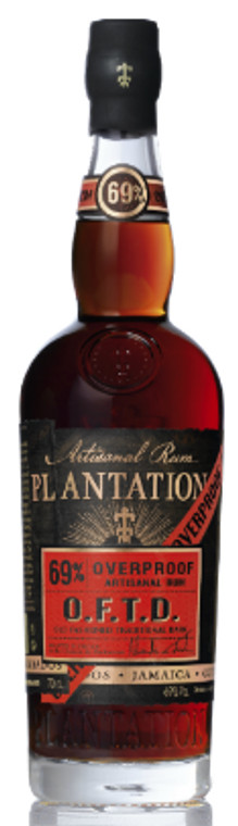 Plantation Rum Old Fashioned Traditional Dark Overproof Rum