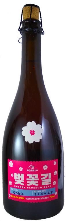 Gorilla Cherry Blossom Road Jeongy's Spice Saison