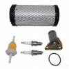 Tune Up Kit, E-Z-Go 350cc 4-cycle Gas 96+ with Oil Filter