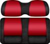 Veranda Edition Golf Cart Seat Black-Red