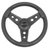 Lugana Rigid Steering Wheel Black for Yamaha Drive