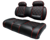 Luxury Exclusive Benchback Two Tone With Head Rest Golf Cart Seat