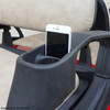 Integrated Arm rest Cup Holder and Phone Slot