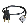 36V Yamaha G Series Charger Cable for Chargeplus Golf Cart Charger