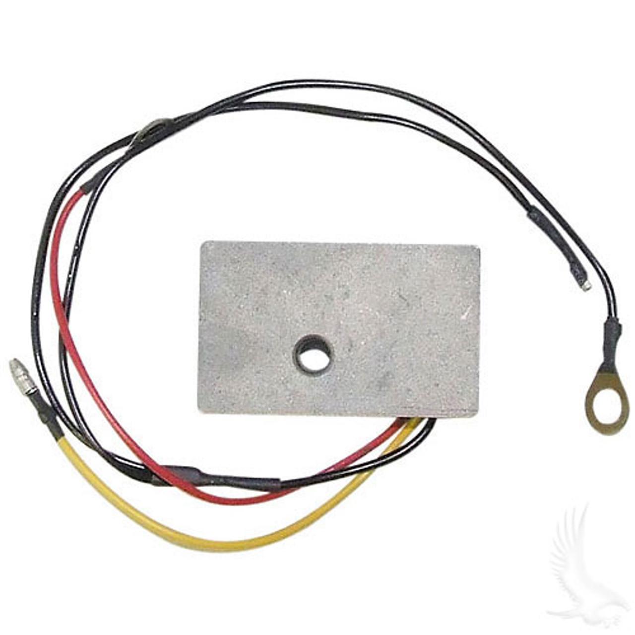 Voltage Regulator, Club Car DS Gas 92+