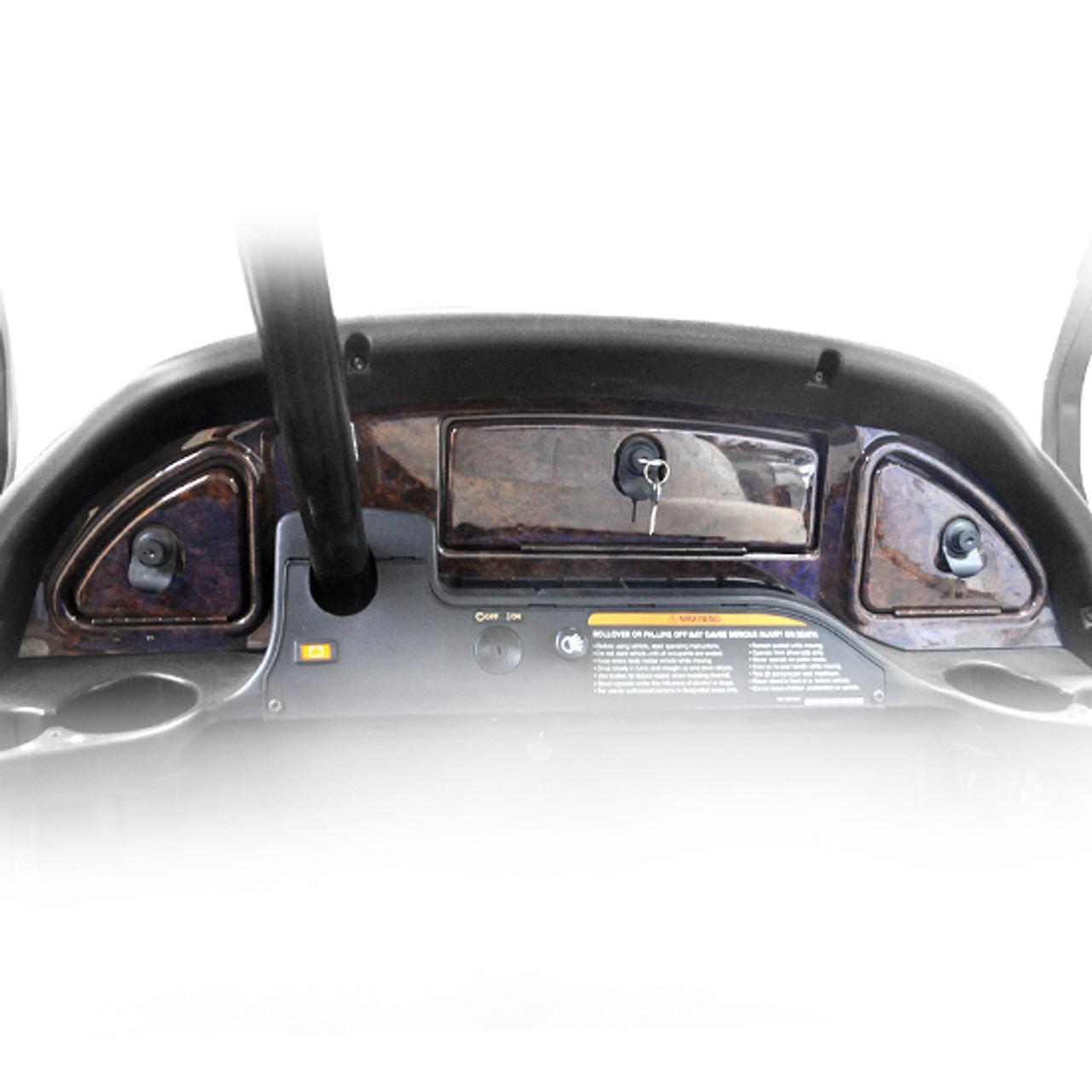 Madjax 08+ Wood grain dash fit Club Car Precedent
