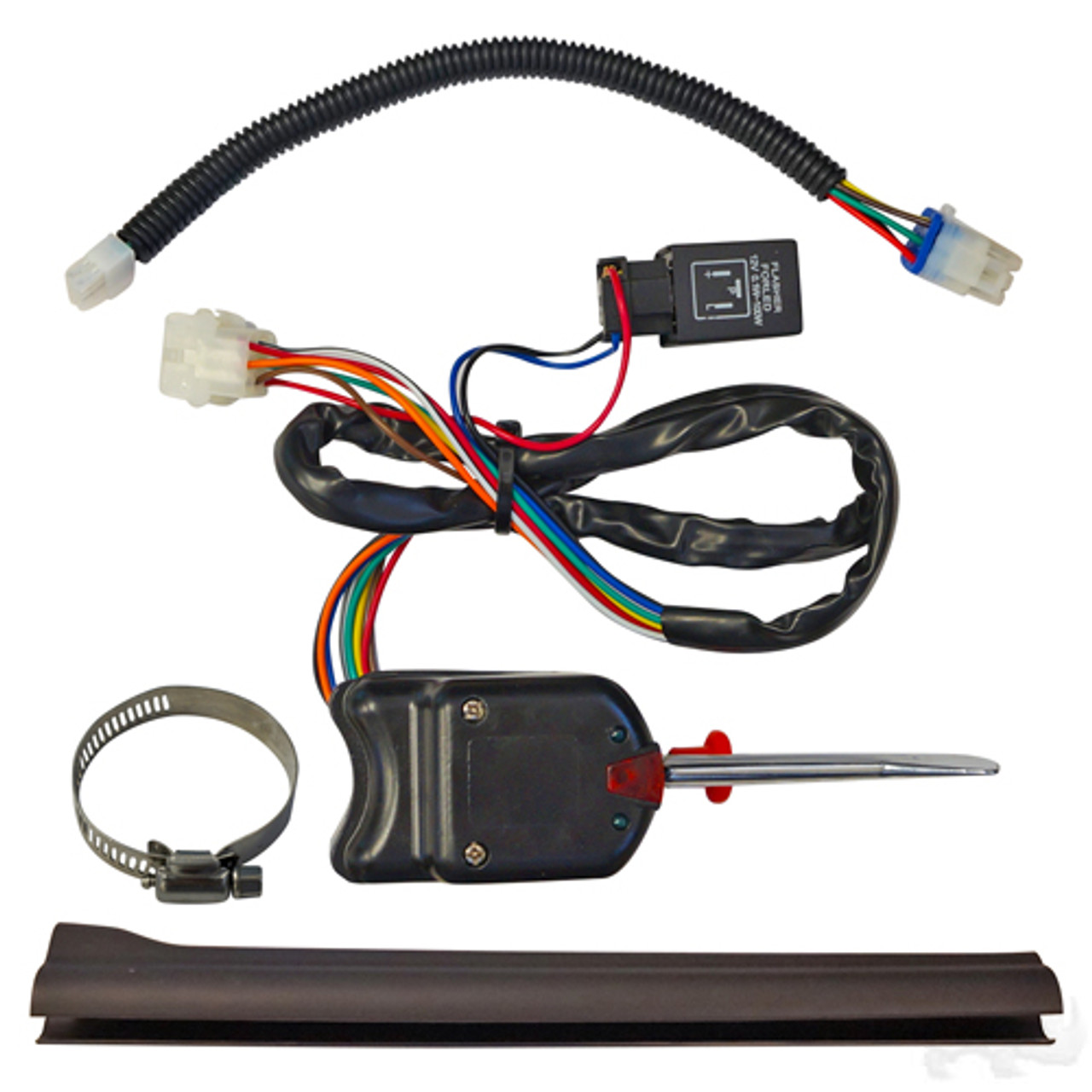 turn signal kit, e-z-go rxv factory wiring harness