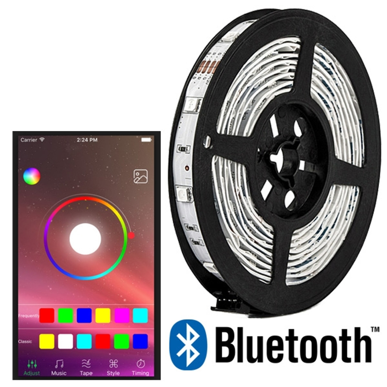 Super Saver LED Accent Light Kit Bluetooth Controls IOS/Android