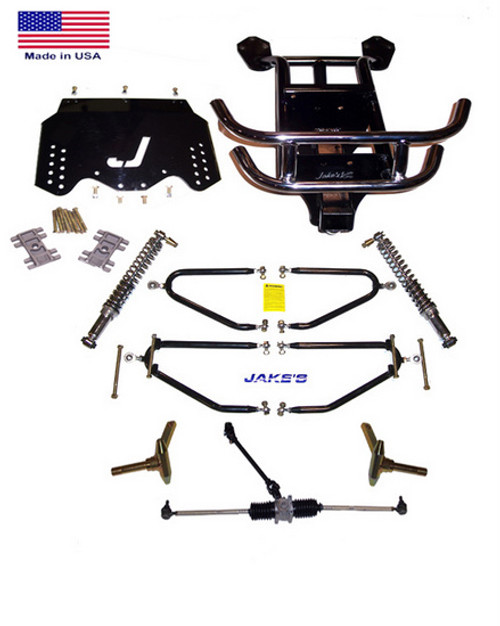 "Jakes EZGO 4""-8"" LIFT KIT 2001 1/2 & NEWER LONG TRAVEL GAS"