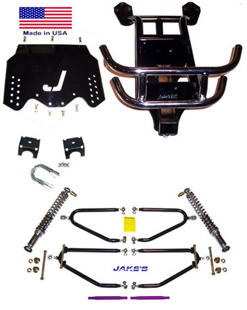 "Jakes EZGO 4""-8"" LIFT KIT 1994-2001 1/2 LONG TRAVEL GAS"