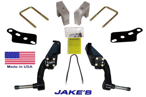 "Jakes CC 6"" LIFT KIT 1996 1/2-2003 GAS & 1984-2003 ELECTRIC /  STEEL DUST COVER"