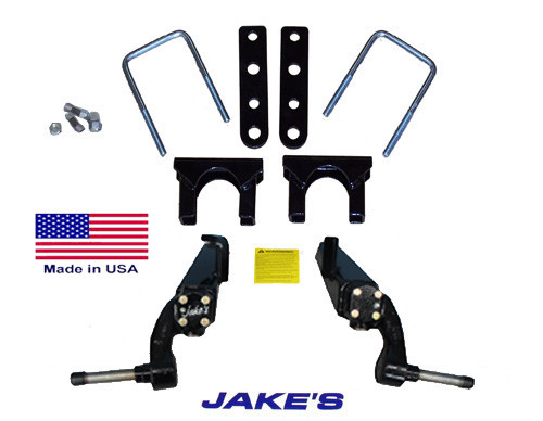 "Jakes CC LIFT KIT 3"" SPINDLE 84-03 STEEL DUST COVERS"