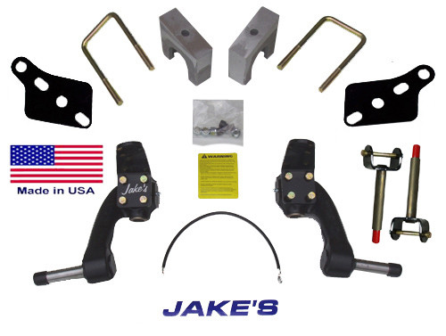 "Jakes CC 6"" LIFT KIT PRECEDENT SPINDLE  GAS & ELECTRIC"