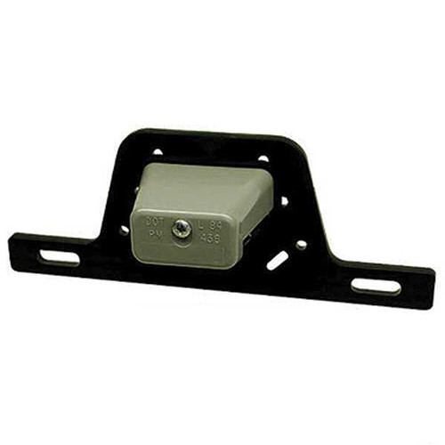LICENSE PLATE LIGHT & PLASTIC BRACKET W/ SEPARATE GROUND WIRE