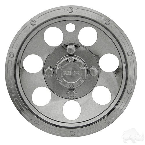 "Wheel Cover, 10"" Beadlock A/T Chrome standard 10"" wheels"